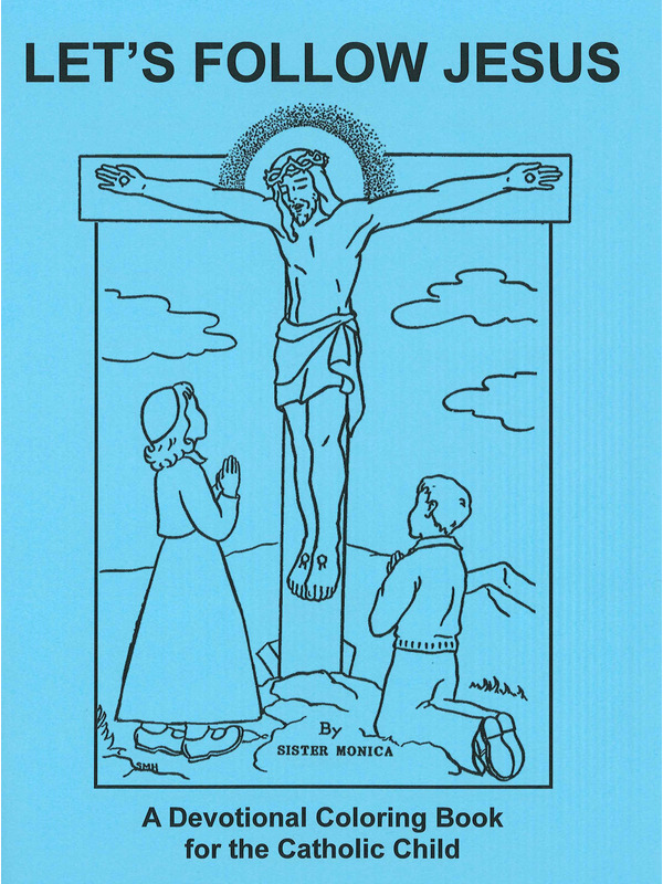 Let\'s Follow Jesus Coloring Book