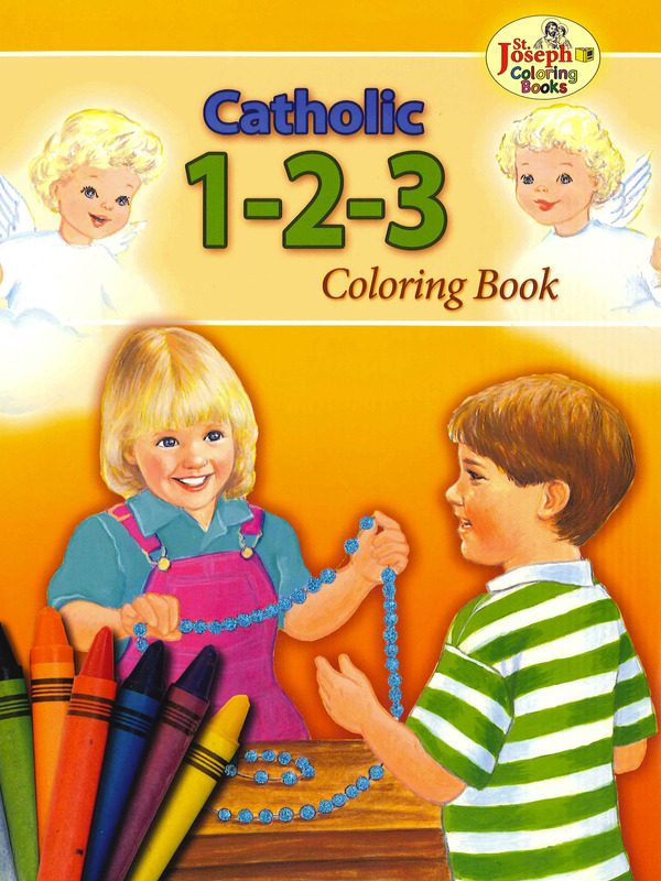 Catholic 123 Coloring Book