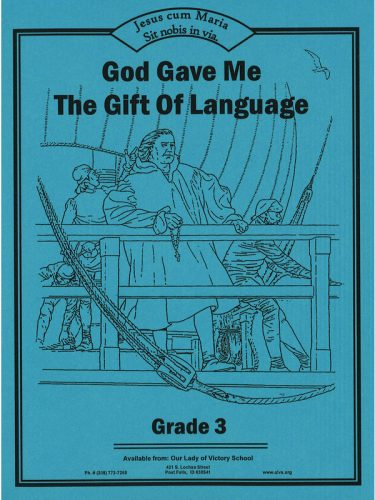 God Gave Me the Gift of Language 3 Workbook