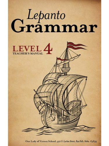 Lepanto Grammar 4 Teacher's Manual