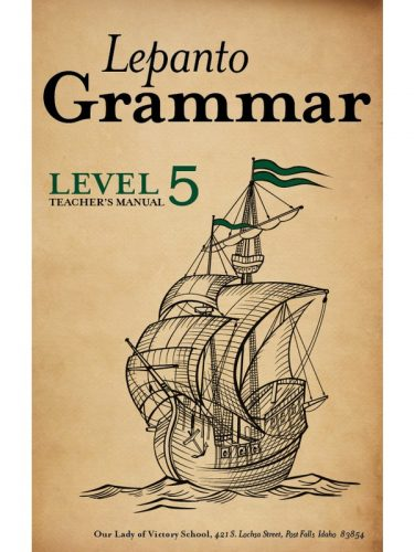 Lepanto Grammar 5 Teacher's Manual