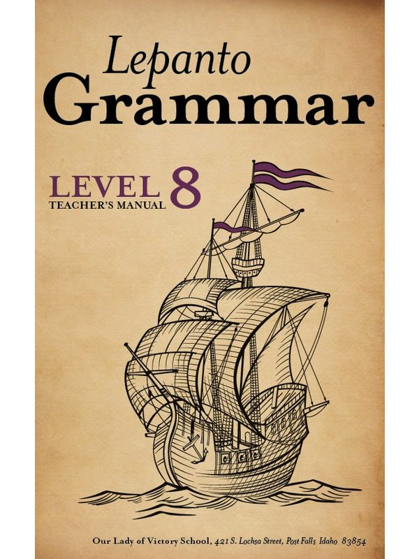 Lepanto Grammar 8 Teacher's Manual