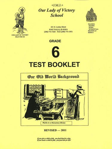 Our Old World Background Test Book