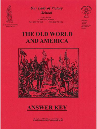 Old World & America Answer Key