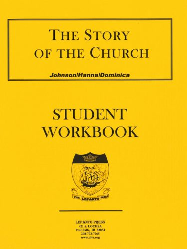 Story of the Church Workbook