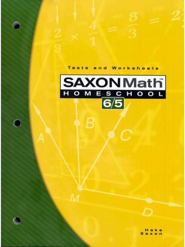 Saxon 6/5 Tests and Worksheets