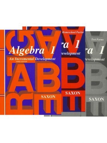 Saxon Algebra I Set (3rd edition)
