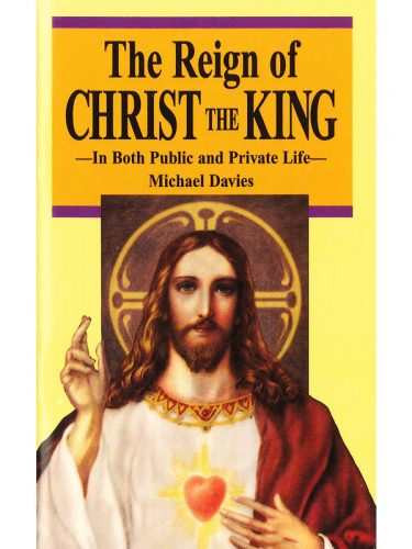 Reign of Christ the King