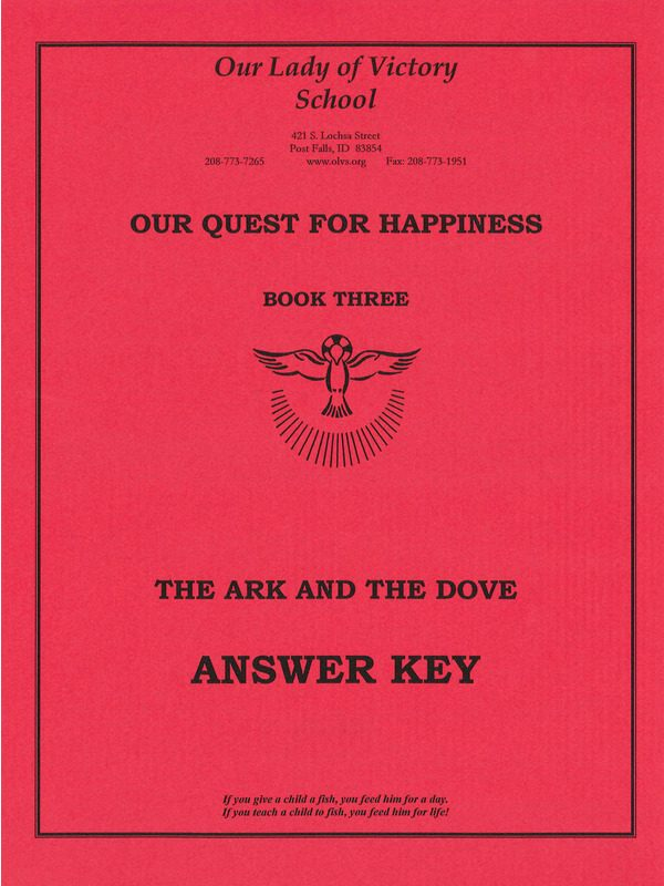 Ark & Dove Answer Key