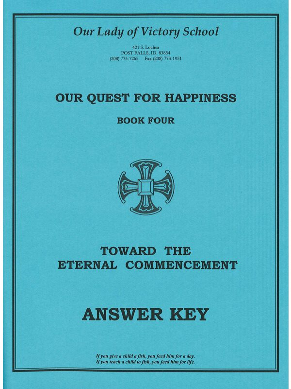 Toward the Eternal Commencement Answer Key