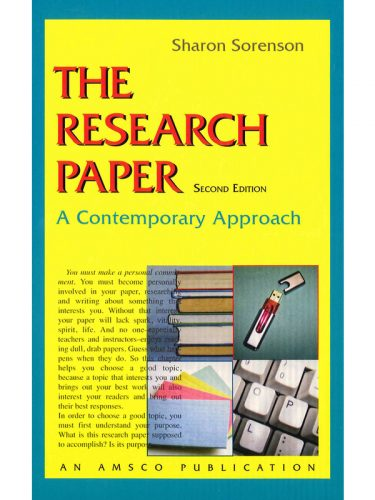 Research Paper Text (2nd edition)