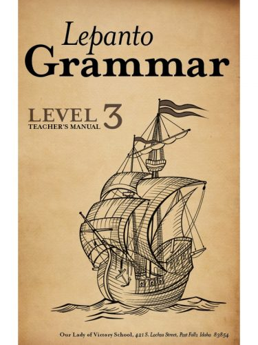 Lepanto Grammar 3 Teacher's Manual