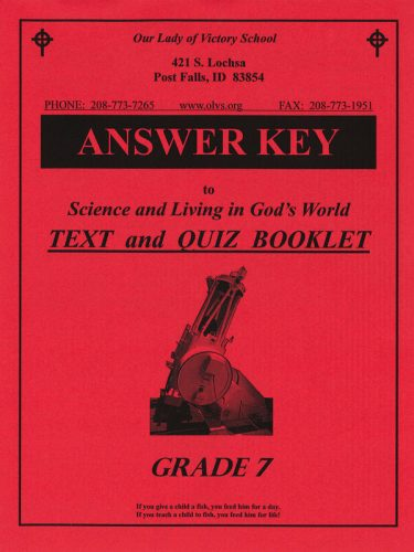 Science & Living in God's World 7 Answer Key