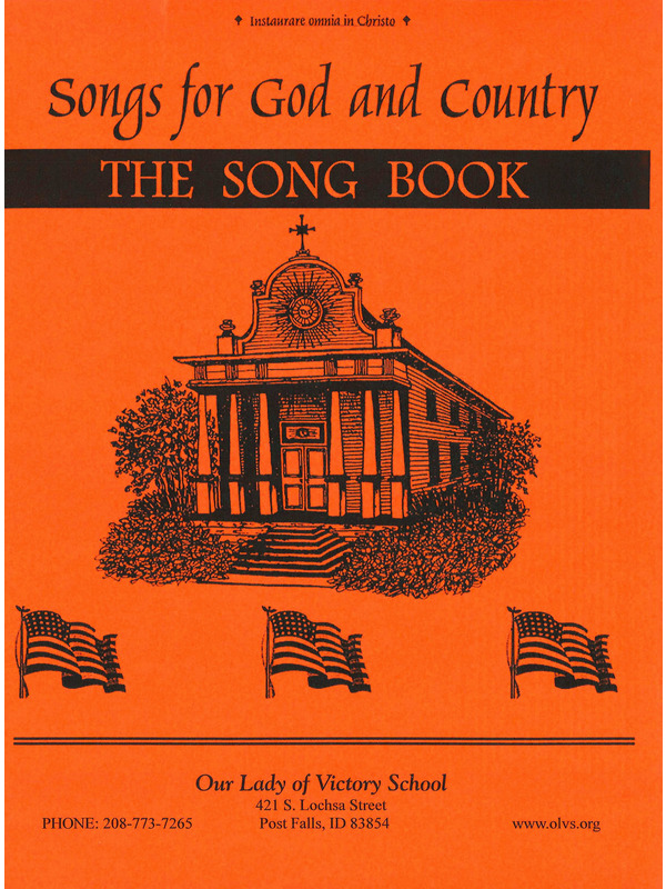 Songs For God & Country Book – Our Lady of Victory School