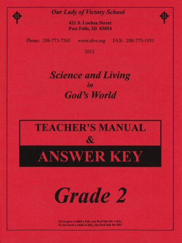 Science & Living in God's World 2 Teacher's Manual