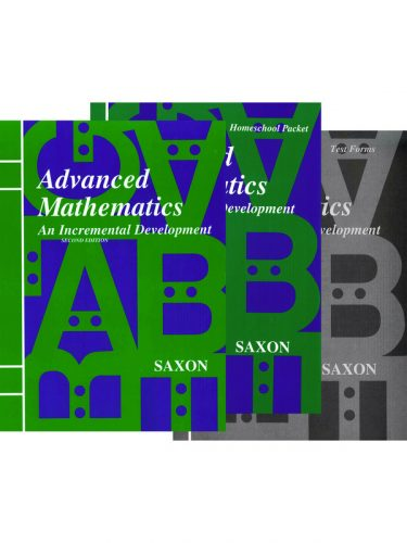 Saxon Advanced Math Set