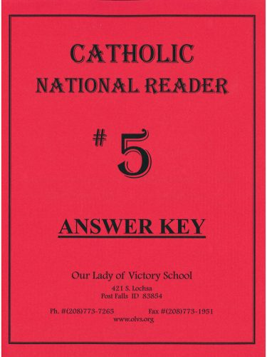 CNR #5 Answer Key
