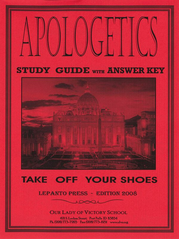 Apologetics Study Guide