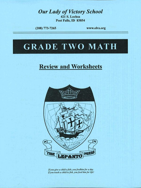 Review and Work Sheets (Gr. 2)
