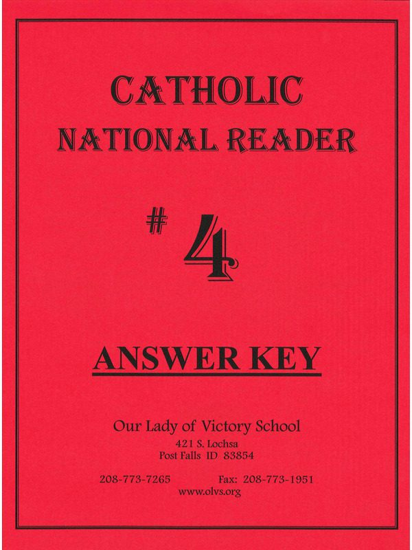 CNR #4 Answer Key