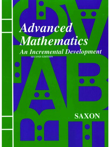 Saxon Advanced Math Text