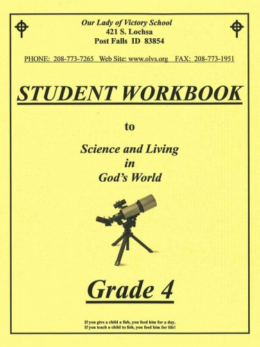 Science & Living in God's World 4 Workbook