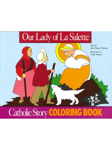 Our Lady of La Salette Coloring Book
