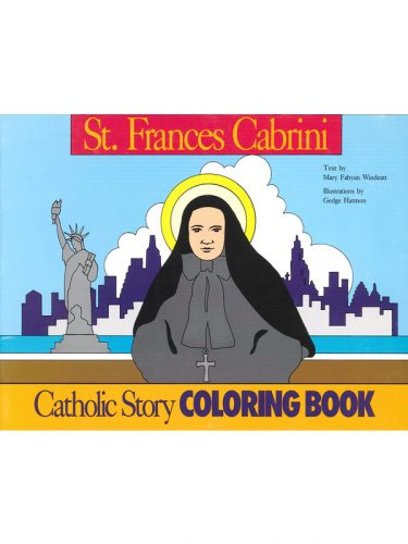 St. Frances Cabrini Coloring Book (Windeatt)
