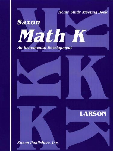 Saxon K Meeting Book
