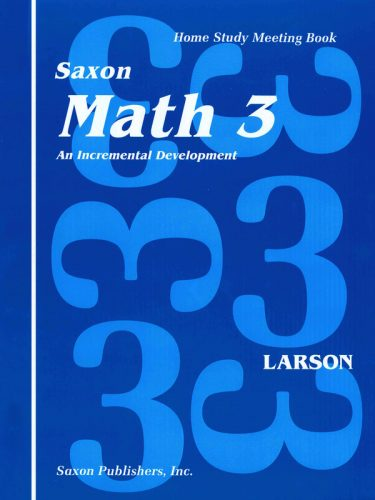 Saxon 3 Meeting Book