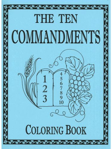 Ten Commandments Coloring Book