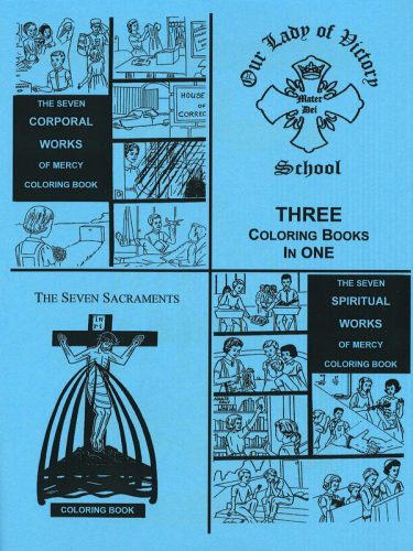 7 Sacraments & Works of Mercy Coloring Book