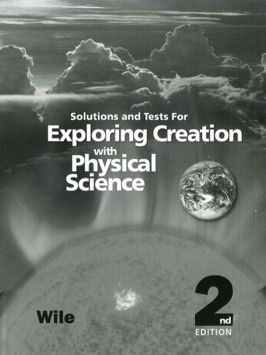 Physical Science Solutions & Tests Book (2nd ed.)