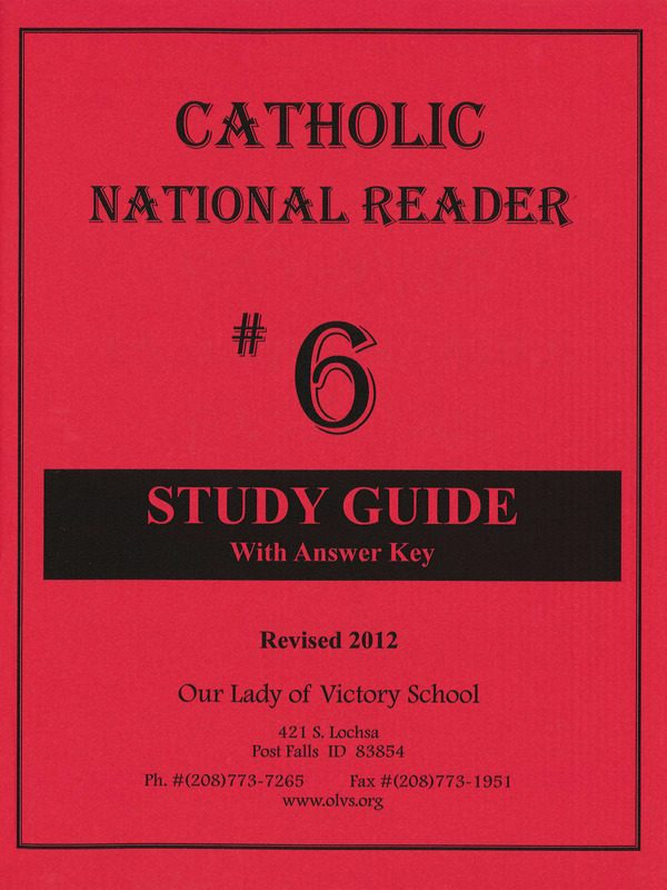 CNR #6 Study Guide with Answer Key