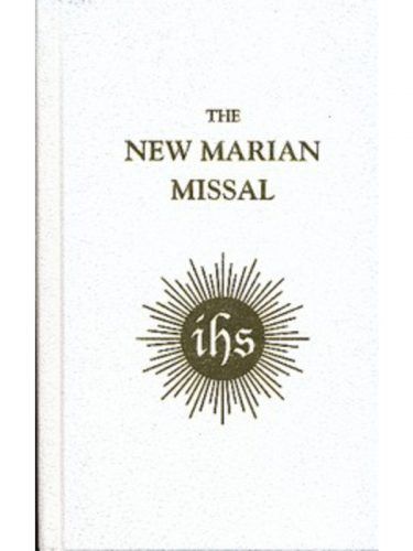 New Marian Missal White