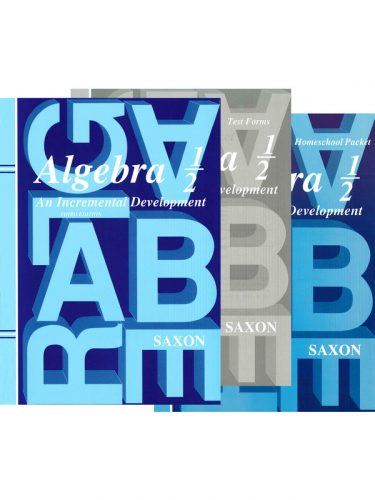 Saxon Algebra 1/2 Set (3rd Edition)