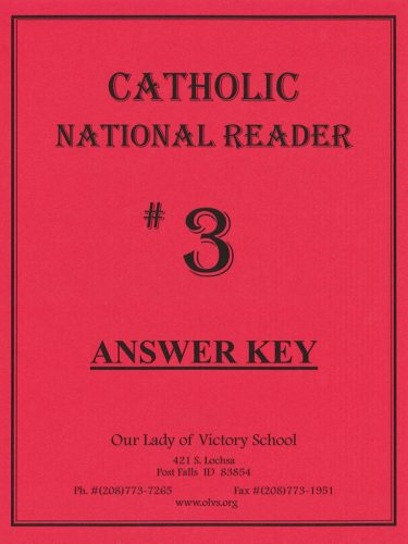 CNR #3 Answer Key