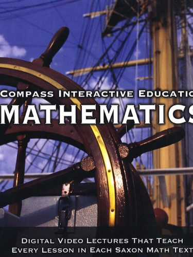 Compass Video Lecture CD (Saxon Alg. 1/2)