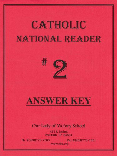 CNR #2 Answer Key