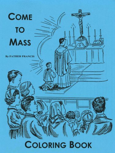 Come to Mass Coloring Book