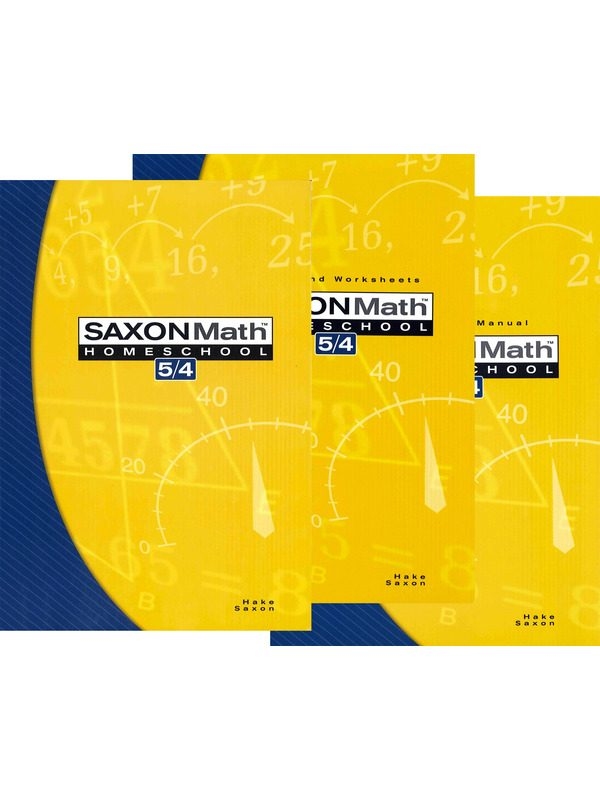 Saxon 5/4 Set (3rd Edition)