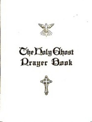 Holy Ghost Prayerbook White