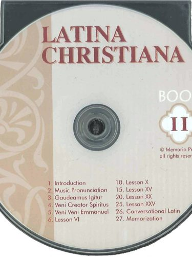 Latina Christiana II Pronunciation CD