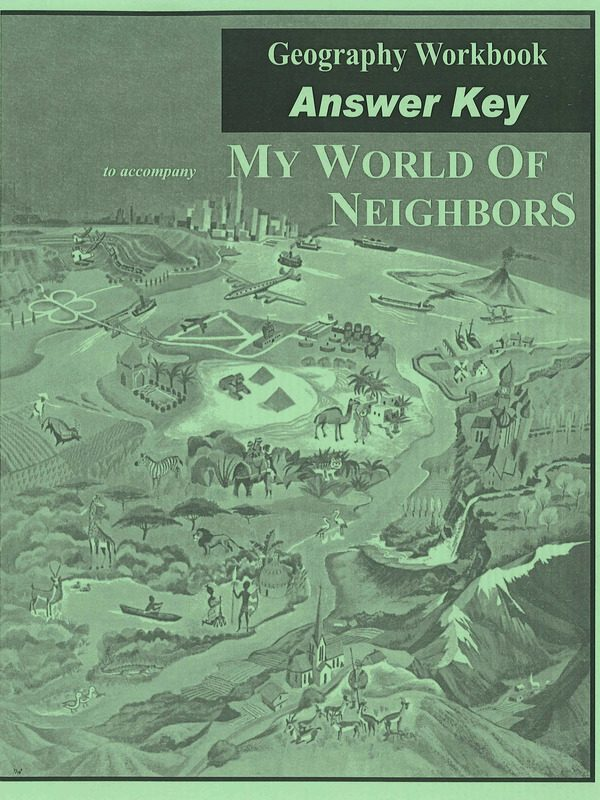 My World of Neighbors ANSWER KEY Workbook