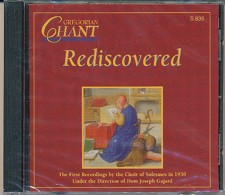 M-Gregorian Chant Rediscovered CD