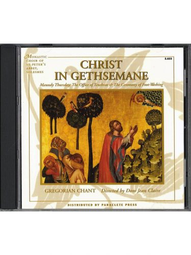 M-Christ in Gethsemane CD