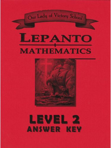 Lepanto Math Level 2 Answer Key