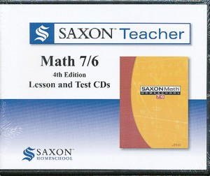 Saxon Teacher Math 7/6 Lesson and Test CDs