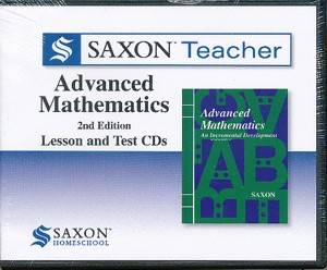 Saxon Teacher Math Adv. Math Lesson and Test CD's