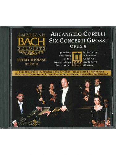 M-American Bach Soloists Six Concerti Grossi CD